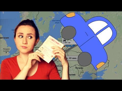 Traveling by car in Russia – Slow Russian Listening – English Subtitles