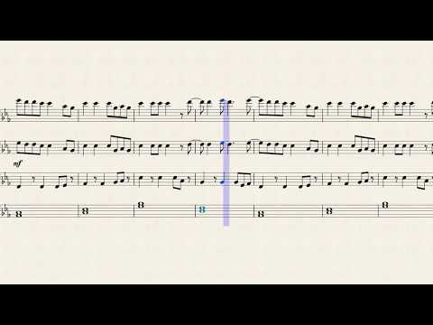 Pumped Up Kicks (For Low Brass)(Old: Link in Description For Newer)