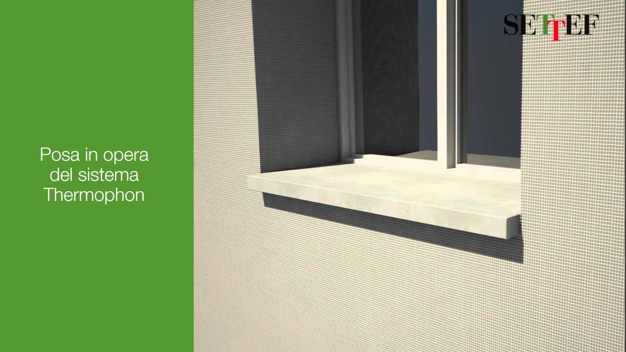 Settef i davanzali delle finestre nella posa in opera - Coibentazione davanzali finestre ...