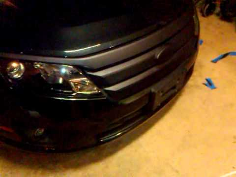 Plasti Dip Finished Dipping My Grill