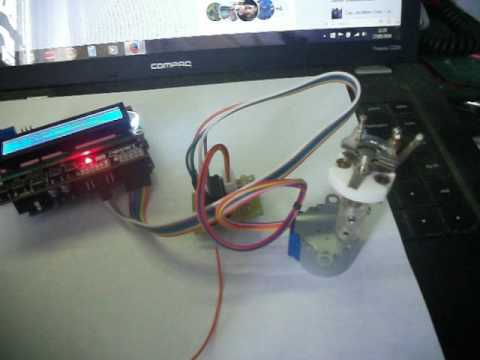 Arduino magnetic loop tuning controller