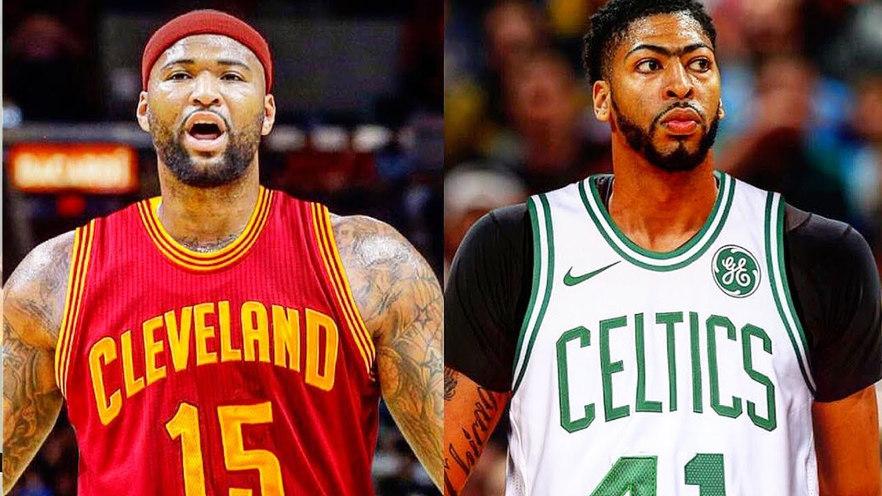 newest f6070 df547 DeMarcus Cousins traded to Cavaliers! Anthony Davis traded to Celtics NBA  Simulation