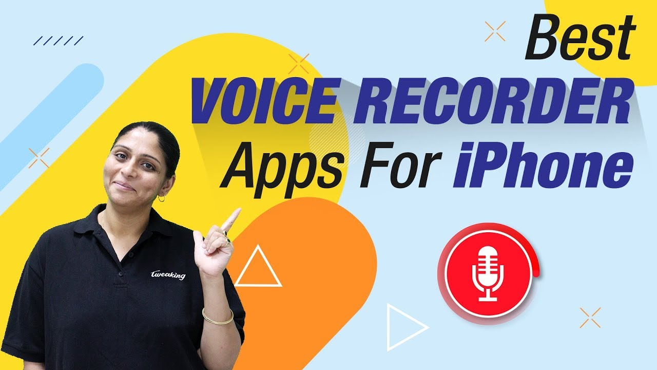 7 Best Voice Recorder Apps For iPhone