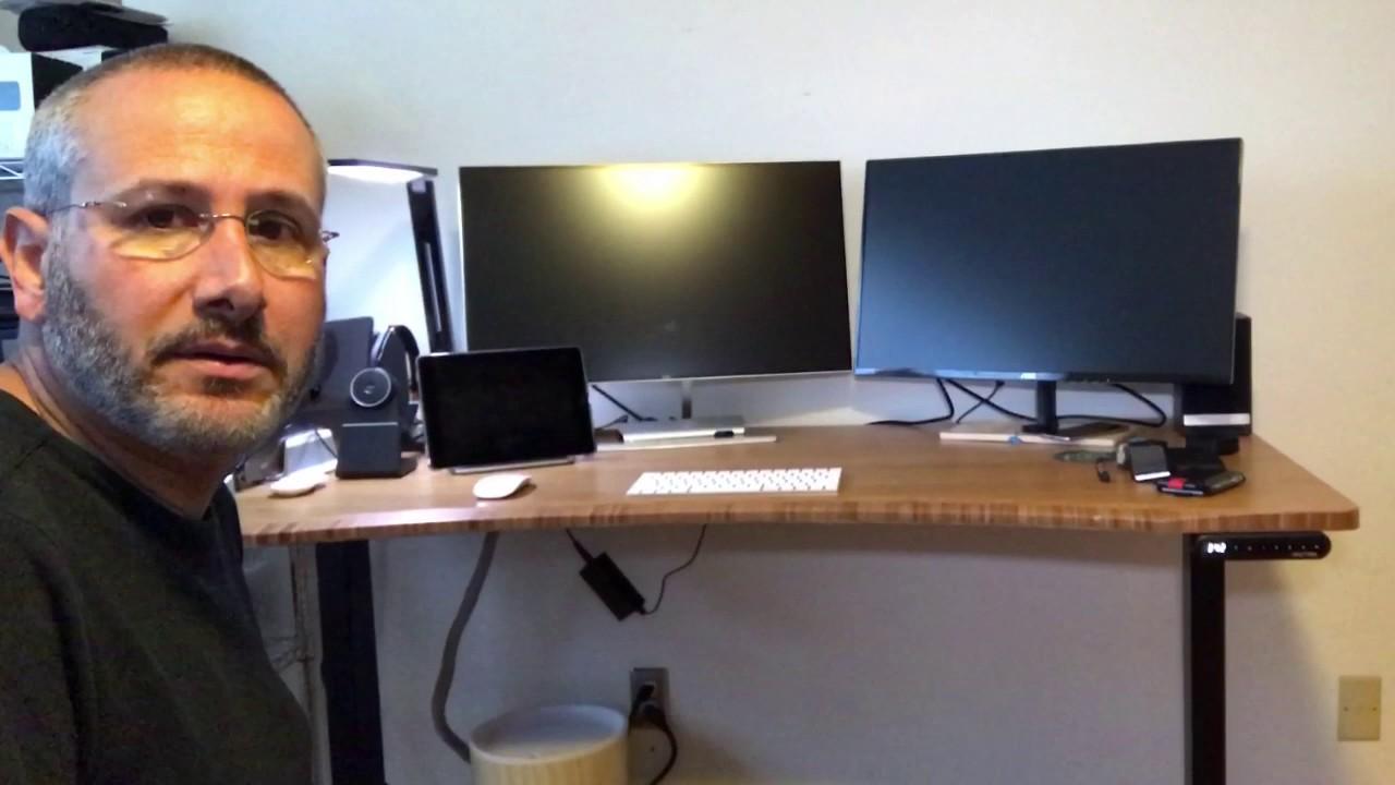 Human Solution UPLIFT SitStand Desk YouTube