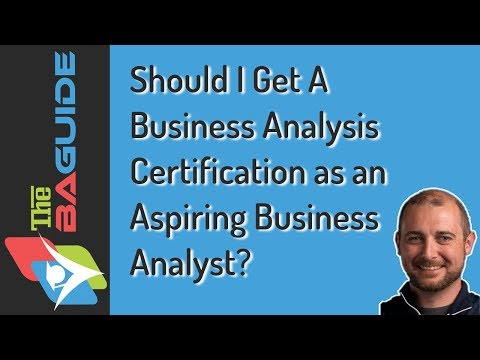 Should I Get a Business Analysis Certification as an Aspiring Business Analyst?
