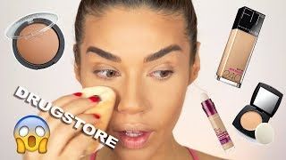 how to get a flawless base using all drugstore makeup foundation routine under 10
