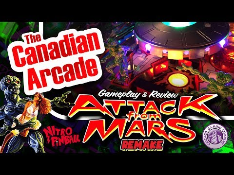 Attack from Mars Remake L.E. from Chicago Gaming Company - Gameplay and Review