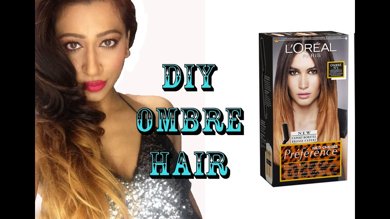 Diy Ombre Hair Colour Tutorial Loreal Preference Wild Ombre Kit