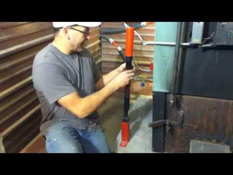 China 34t log wood splitter, longli electric log splitter, manual.