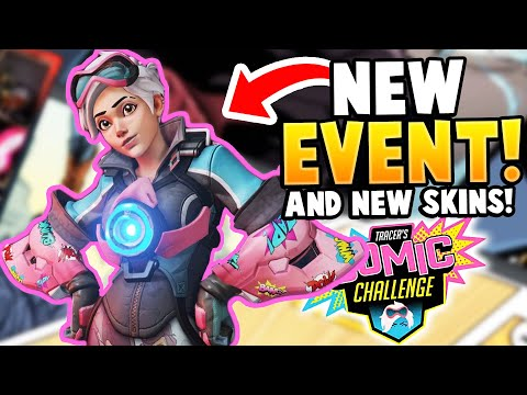 Overwatch: *NEW EVENT* Tracer Comic Challenge! & NEW SKINS!