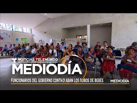 Tras los pasos de los niños robados en Guatemala durante treinta años | Noticias Telemundo