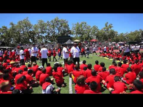 Duracell Patrick Willis Football ProCamp