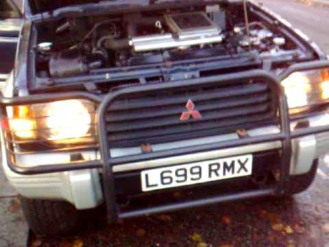 Mitsubishi Pajero 2 8 TDI perfect body work and engine