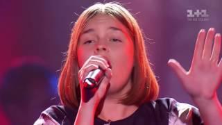 """Тина Кароль в шоке от такого исполнения песни """"Jamala - 1944"""" .Голос Дети 2016."""