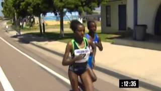 Ethiopian Woman Athlete 5000m in 2010 - Dibaba.