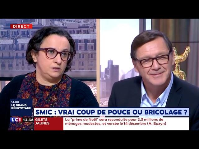Annonces de Macron Gilets jaunes / MNCP (LCI - 11/12/18)