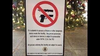 Pittsburgh Breaks the Law to Enact Gun Control?