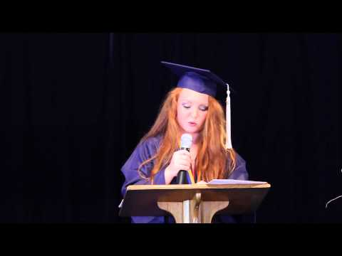 Lighthouse Christian Academy Graduation: Zoe Photenhauer (2013)