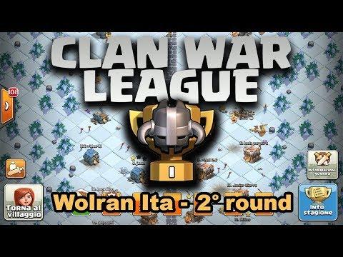 CWL WOLRAN ITA 2° ROUND Clash of Clans