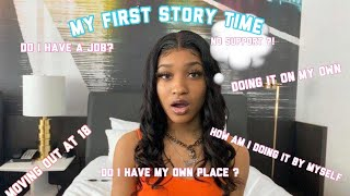 STORY TIME: I MOVED OUT MY PARENTS HOUSE DURING THE PANDEMIC AT 18
