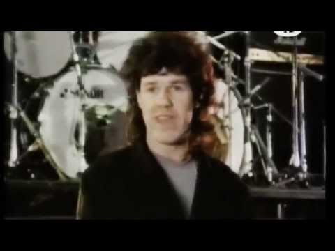Gary Moore - Live In Ireland,1984. Part 1. Interview. Out In The Fields