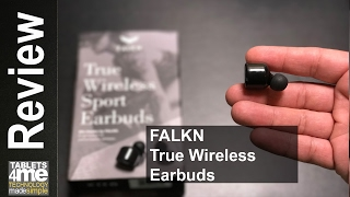 Finally Long lasting earbuds! FALKN True Wireless Sports Earbuds Review $50 Bucks off!