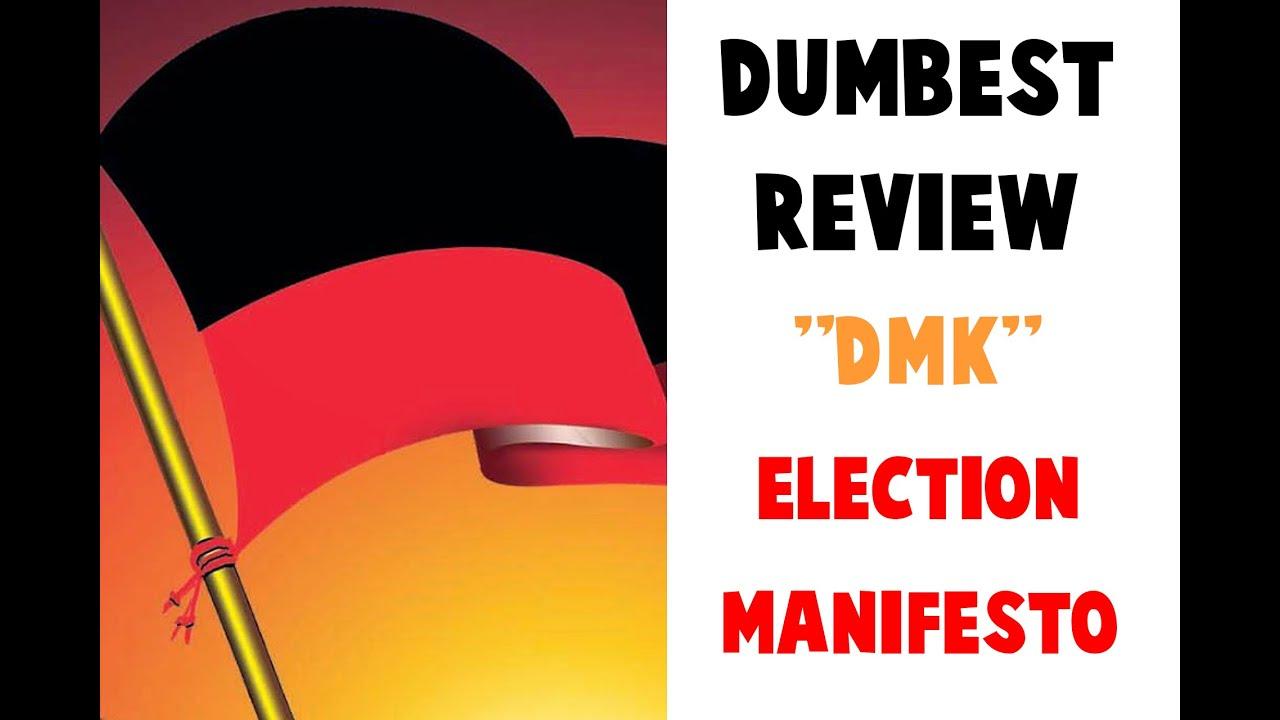 DMK Manifesto | Dumbest Review | Smile Settai