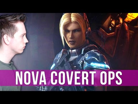 StarCraft 2: Nova Covert Ops Gameplay - Enemy Intelligence on Brutal! (Mission 3)