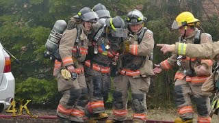Mississauga: Fireman injured while battling house fire 3-6-2017