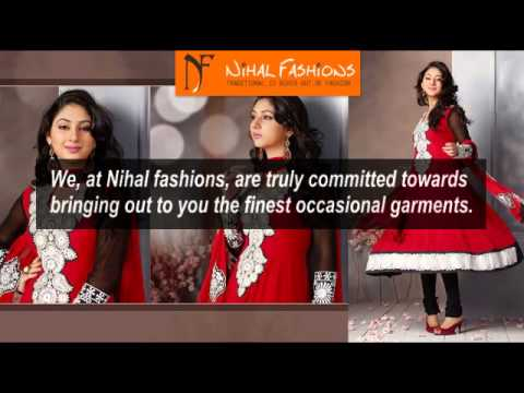 Designer Indian Clothing | Mens Sherwani & Girls Lehenga Choli - Nihal Fashions