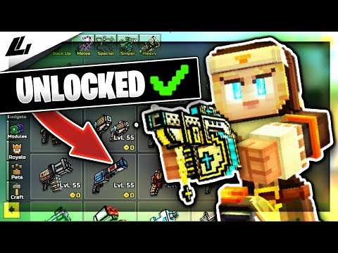 How To Get EVERYTHING For FREE In Pixel Gun 3D! (Level 55, All Guns Unlocked, Free Shopping)