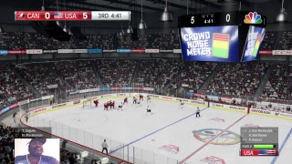 THE WORLD CUP OF HOCKEY 2018 SEASON TWO 2 ROUND QUALIFYING GAME TEAM CANADA VS TEAM USA