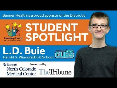 Student Spotlight: L.D. Buie
