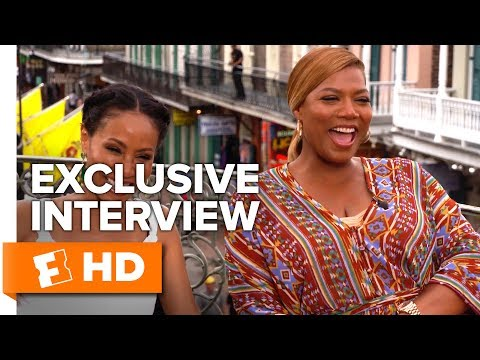 """Queen Latifah Explains """"White Girl Wasted"""" - Girls Trip (2017) Interview 