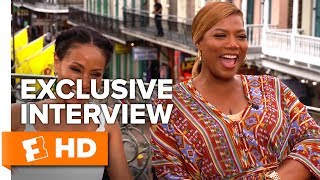 """queen latifah explains """"white girl wasted"""" girls trip 2017 interview all access"""
