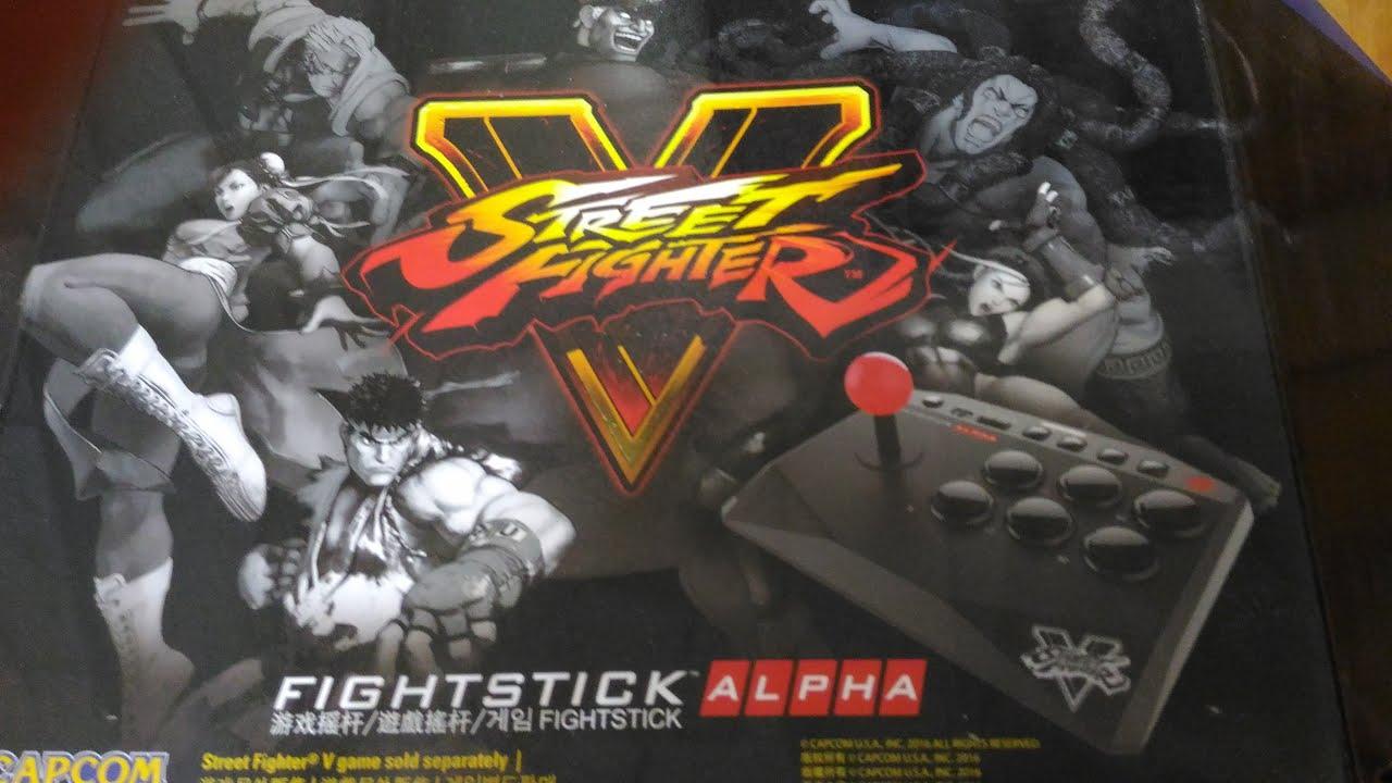 一致好評 有深度的 FightStick Alpha大搖開箱 (中文字幕) (連公子002) - YouTube