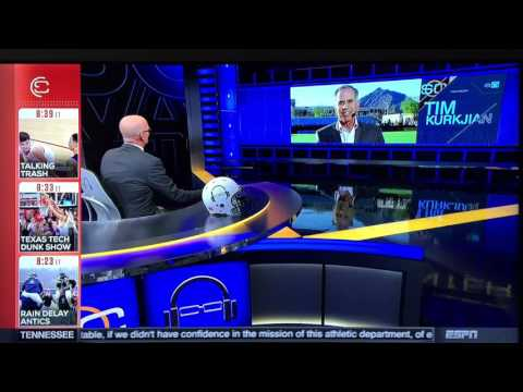 SVP & Tim Kurkjian with their Baltimore Accents (February 23rd 2016)