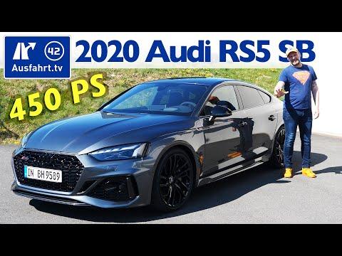 2020 Audi RS5 Sportback (F5 FL) - Kaufberatung, Test Deutsch, Review, Fahrbericht Ausfahrt.tv