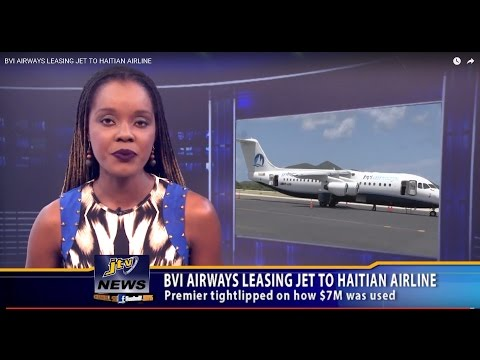 BVI AIRWAYS LEASING JET TO HAITIAN AIRLINE