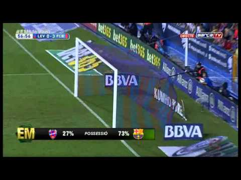 LEVANTE vs FC BARCELONA - Amplio Resumen [0-5][21-09-2014] BarçaTV