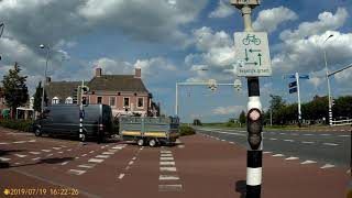 Groningen To Appingedam 19-07-19 Part 2/3 (Rijksweg N360 Garmerwolde-Stadsweg Winneweer)