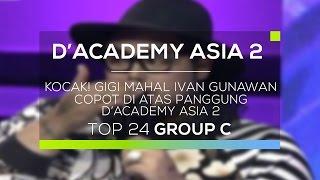 Kocak! Gigi Mahal Ivan Gunawan Copot di Atas Panggung D'Academy Asia 2