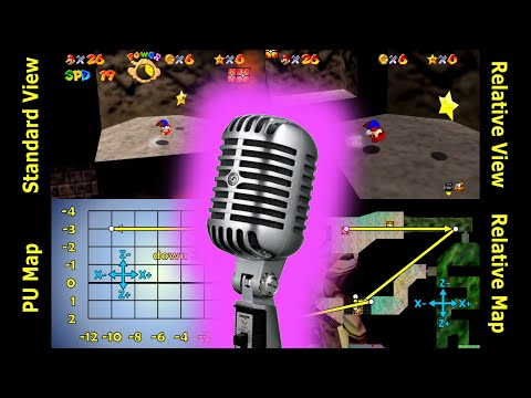 Super Mario 64 - Watch for Rolling Rocks - done with 0.5 A presses (commentated)