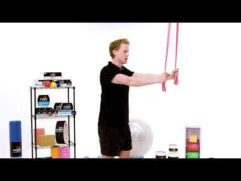 Straight Arm Pull Down Resistance Band
