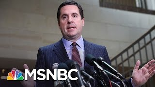 House Intel Russia Probe Paused As Criticism Of Devin Nunes Grows | MSNBC