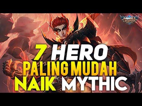 7 HERO PALING CEPAT NAIK KE MYTHIC SEASON 16 - Mobile Legends Indonesia