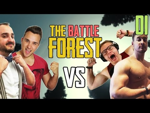 NEUES PROJEKT im 2 vs 2 ★ THE FOREST BATTLE #01   The Forest Multiplayer   LPmitKev