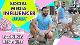 EARN MILLIONS BY BECOMING A SOCIAL MEDIA INFLUENCER ! [Hindi]