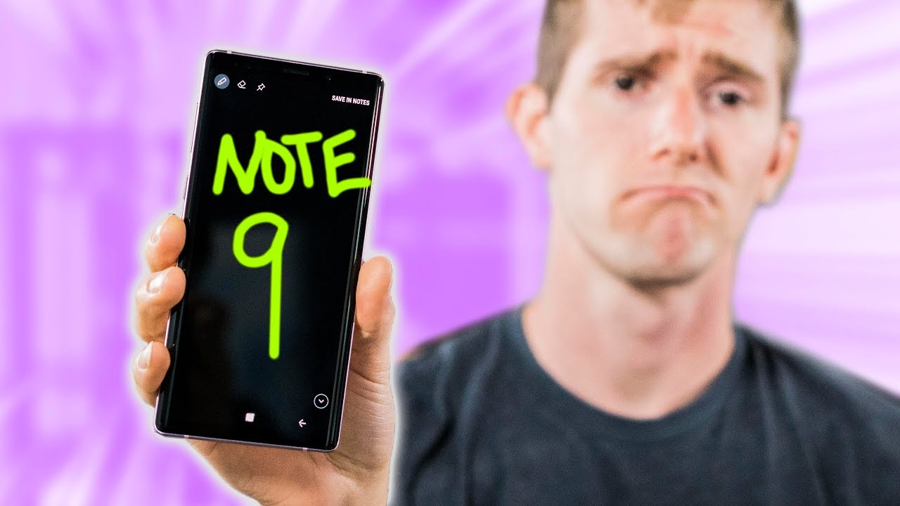 Galaxy Note 9 - ALMOST Perfect..