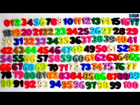 Learn To Count 0 to 100 | Play Doh Numbers|Counting Numbers |Learn Numbers for Kids Toddlers Child